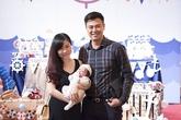 MC Tuấn Tú chia sẻ hình ảnh tiệc đầy tháng của con trai