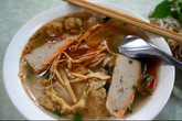 Bún chả cá miền Trung cho ngày mát trời Hà Nội
