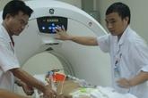Trực thăng mang thuyền phó chấn thương sọ não từ Trường Sa về TP HCM
