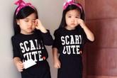 Những cặp sinh đôi đẹp như thiên thần của sao Việt
