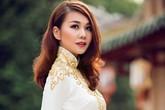Thanh Hằng duyên dáng áo dài đa sắc màu