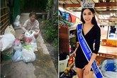 """Bên trong căn nhà ở khu ổ chuột của Hoa hậu """"nhặt rác"""" 17 tuổi"""