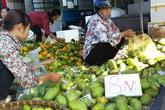 Độc đáo chợ hoa quả đồng giá ở Hà Nội