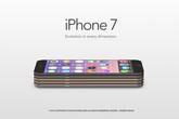 Ý tưởng iPhone 7 siêu mỏng với bộ vỏ nhiều màu sắc