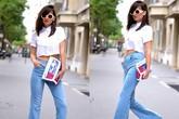 7 cách mặc quần jeans ống loe thời thượng năm 2015