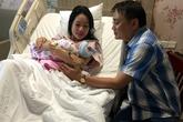 Trịnh Kim Chi sinh con gái thứ hai ở tuổi 43