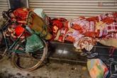 Lạnh lẽo những giấc ngủ đêm đông của người vô gia cư ở Hà Nội