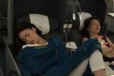 Hoa hậu Kỳ Duyên có đáng bị xúc phạm vì hớ hênh trên máy bay?