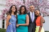 Hình ảnh mới nhất về gia đình tổng thống Obama