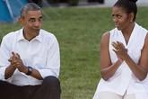 Có một tổng thống Obama rất xì-tin, hài hước