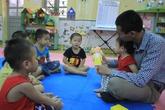 Thầy giáo mầm non 'độc nhất vô nhị' ở Hòa Bình