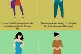 Khác biệt thú vị của phụ nữ trước và sau khi lấy chồng