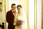 Tự Long hạnh phúc khoe ảnh cưới ngọt ngào bên người vợ mới