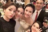 Các Hoa hậu Việt đi dự đám cưới bí mật của Top 5 HHVN Thanh Tú