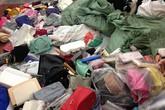 Hàng nghìn túi xách giả nhãn hiệu nổi tiếng bị tiêu hủy