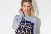 12 mẫu váy ren yêu kiều cho những ngày xuân ngọt ngào