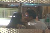 """Cường Đô la """"khóa môi"""" Hạ Vi ngay giữa nhà hàng"""