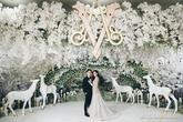 Đại gia đem cả lâu đài cổ tích vào đám cưới với người đẹp Thái Lan