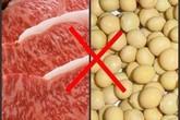 Điểm mặt thực phẩm không nên ăn cùng thịt lợn