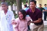 Người thân 4 quân nhân hy sinh đau đớn tại nhà tang lễ