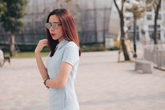 Lưu Hương Giang chọn màu pastel cho trang phục hè