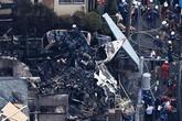 Hiện trường khủng khiếp vụ máy bay rơi trúng khu dân cư