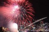 Pháo hoa rực sáng sông Hàn mừng Quốc khánh