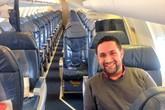 Chuyến bay chỉ có đúng 2 hành khách