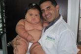 10 tháng tuổi bé nặng 20 kg