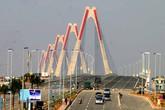 Toàn cảnh lễ thông xe cầu Nhật Tân và đường hiện đại nhất Thủ đô