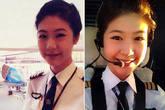 Cô gái xinh đẹp trở thành nữ cơ trưởng đầu tiên ở Việt Nam