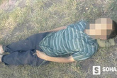 Phát hiện người đàn ông nằm ở bãi cỏ vệ đường đang dần tắt thở