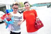 Thu Minh xách túi gần nửa tỷ đi chấm Vietnam Idol