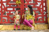 Con gái Hoa hậu Hương Giang làm mẫu nhí vô cùng đáng yêu