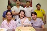 Tiệc đầy tháng giản dị của con gái mỹ nhân đẹp nhất Philippines