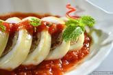 Mực nhồi thịt rim cà chua