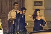 C. Ronaldo bảnh bao đi ăn tối với bạn gái mới