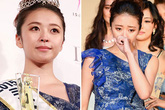 Nước mắt hạnh phúc của tân Hoa hậu Thế giới Nhật Bản