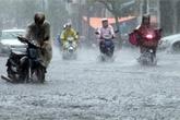 Hà Nội sắp mưa lớn
