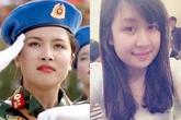 Hình ảnh đời thường của nữ thiếu úy xinh đẹp nổi như cồn sau Ngày Quốc Khánh