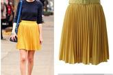 Váy xếp pli ngọt ngào từ hè sang đông