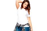 5 bí quyết mặc quần jeans cho nàng béo