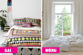 8 sai lầm phòng ngủ khiến bạn trằn trọc cả đêm