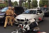 Tông người rồi bỏ chạy, tài xế bị CSGT nổ súng khống chế