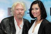 Á hậu Hoàng My gặp gỡ tỷ phú Anh Richard Branson