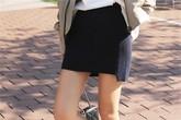 Cách mặc váy ngắn thoải mái không sợ hớ hênh