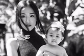 Maya chụp bộ ảnh kỷ niệm cùng con gái
