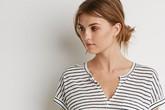 Mẫu áo phông mỏng mát dành cho nàng công sở