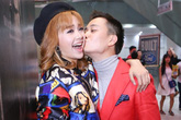 Lương Mạnh Hải khiến Minh Hằng bối rối vì nụ hôn bất ngờ