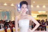 Hoa hậu Thu Thảo lần đầu tỏa sáng trên sàn diễn thời trang